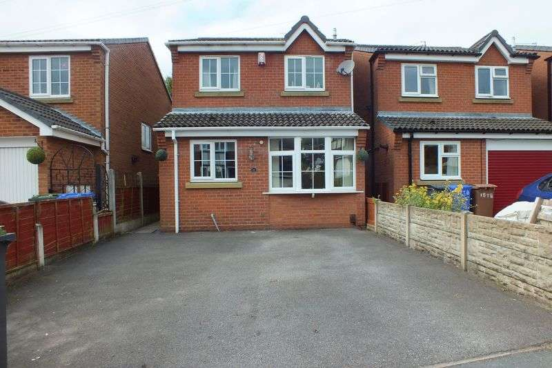 3 Bedrooms Detached House for sale in Tidebrook Place, Packmoor, Stoke-On-Trent