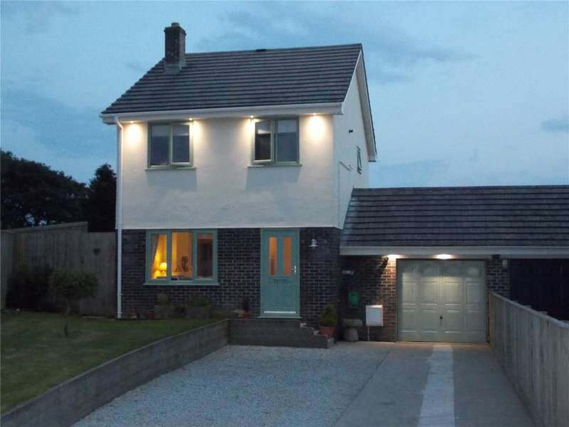 3 Bedrooms Link Detached House for sale in Church View Road, Probus