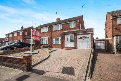 3 Bedrooms Semi Detached House for sale in Swasedale Road, Luton, Bedfordshire, Limbury Mead