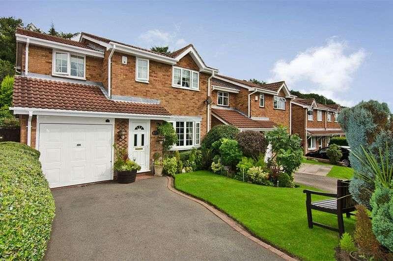 4 Bedrooms Detached House for sale in Greenwood Park, Hednesford