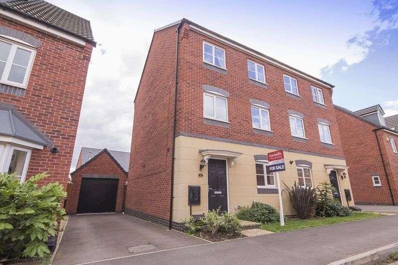 4 Bedrooms Terraced House for sale in MERTON DRIVE, HARLOW FIELDS, MACKWORTH