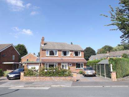4 Bedrooms Detached House for sale in Orchard Drive, Hale, Altrincham, Cheshire