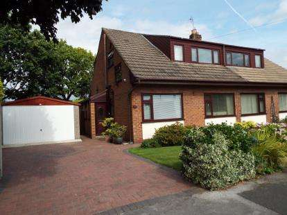 3 Bedrooms Semi Detached House for sale in Powicke Drive, Romiley, Stockport, Cheshire