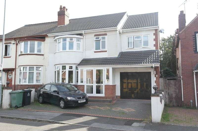 4 Bedrooms Semi Detached House for sale in Bescot Drive, Walsall