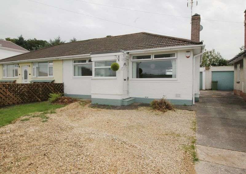 3 Bedrooms Semi Detached Bungalow for sale in Heol Dowlais, Efail Isaf, CF38 1BE