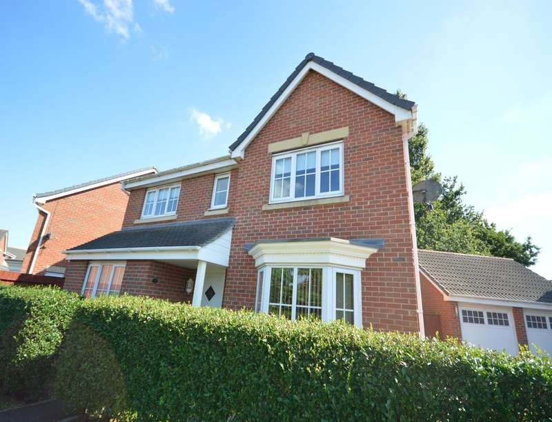 4 Bedrooms Detached House for sale in Pompeii Court, North Hykeham, Lincoln, LN6