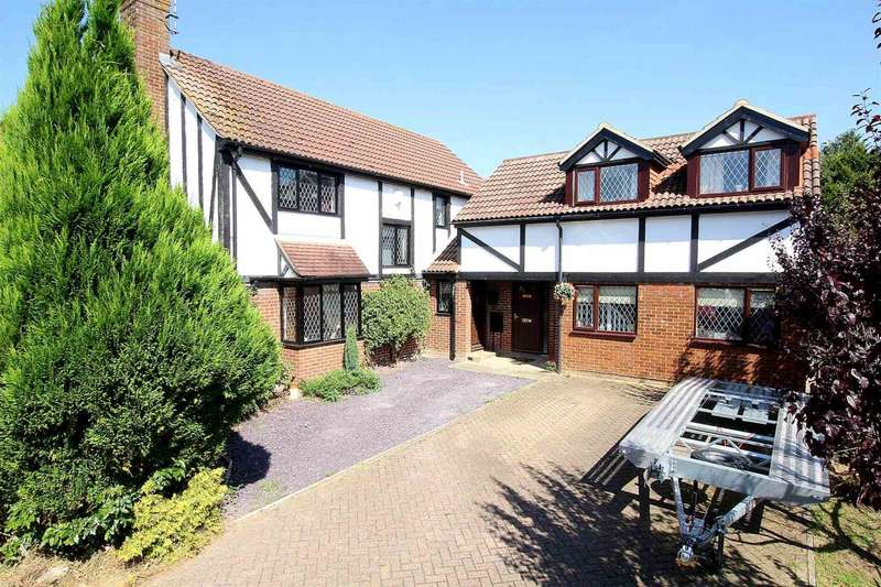 4 Bedrooms Detached House for sale in The Shrubbery, Fields End
