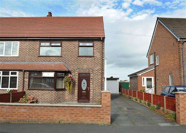 3 Bedrooms Semi Detached House for sale in 23 Rose Avenue, Irlam, M44 6AQ