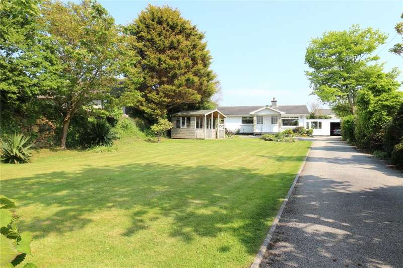 4 Bedrooms Detached Bungalow for sale in Tehidy Road, Camborne, Cornwall