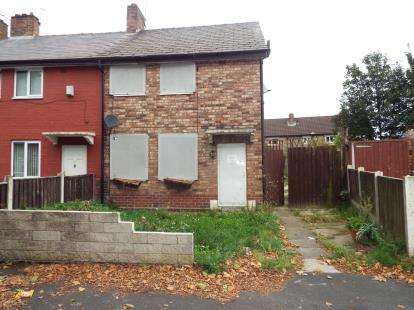 3 Bedrooms End Of Terrace House for sale in Lathum Close, Prescot, Merseyside, L35