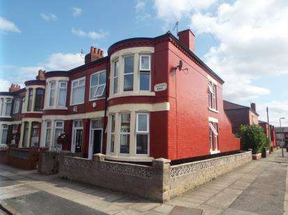 3 Bedrooms End Of Terrace House for sale in Classic Road, Liverpool, Merseyside, L13