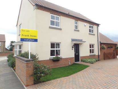 4 Bedrooms Detached House for sale in Thurgaton Way, Newton, Alfreton, Derbyshire
