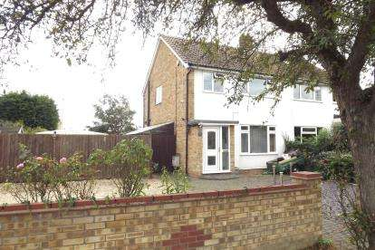 3 Bedrooms Semi Detached House for sale in Manor Gardens, Cambridge Street, St. Neots, Cambridgeshire
