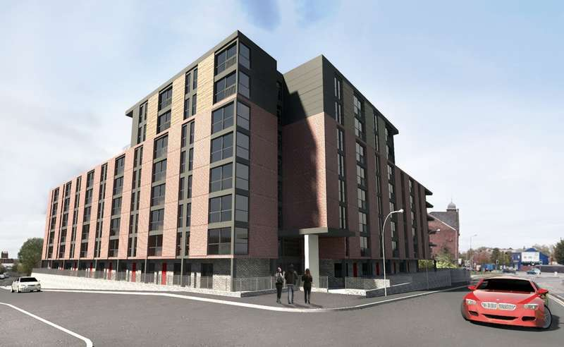 1 Bedroom Studio Flat for sale in Ford Lane, Salford, M6