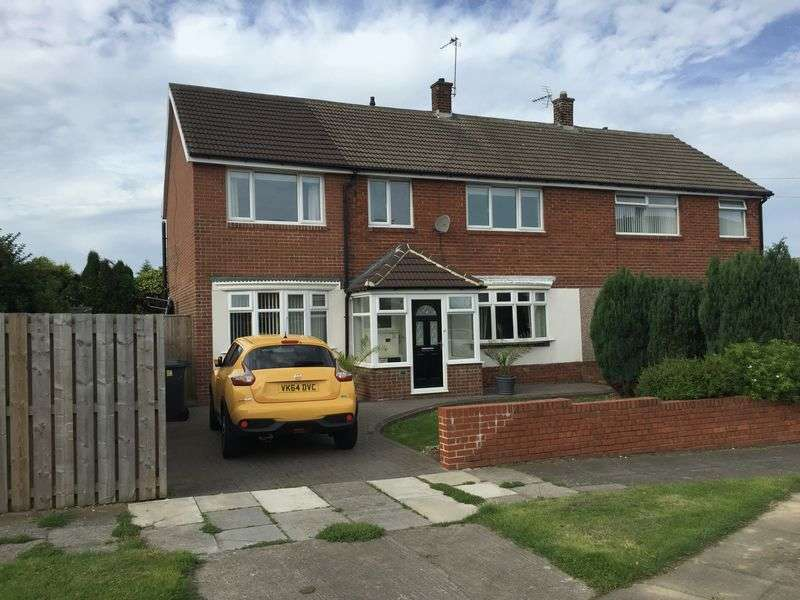 4 Bedrooms Semi Detached House for sale in Dunelm Drive, West Boldon