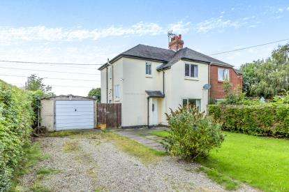 3 Bedrooms Semi Detached House for sale in Mill Lane End, Mill Lane, Blakenhall, Nantwich