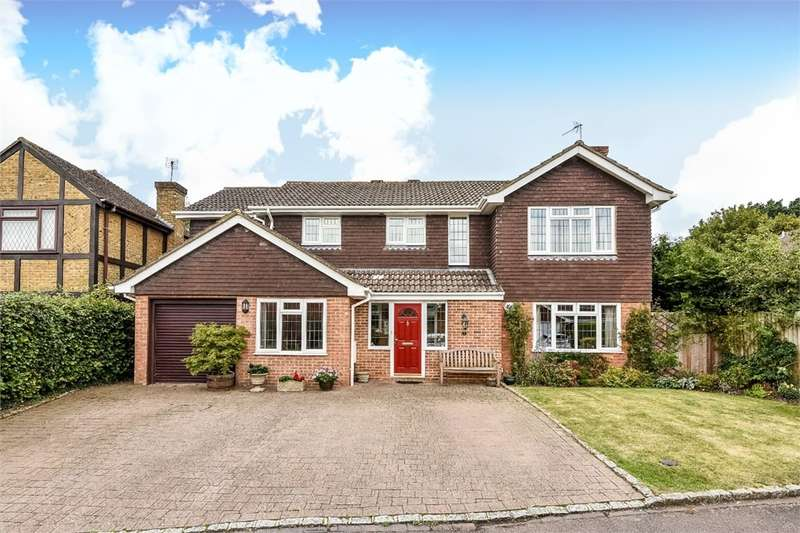 4 Bedrooms Detached House for sale in Chineham, BASINGSTOKE