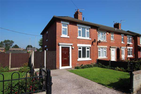 3 Bedrooms Semi Detached House for sale in Mollison Road, Meir, Stoke-on-Trent