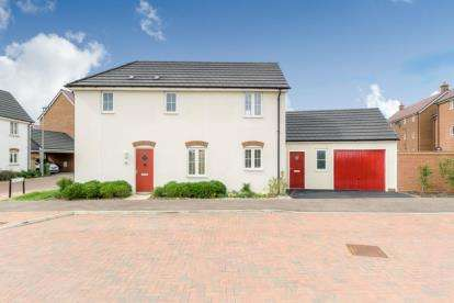 3 Bedrooms Detached House for sale in Dominica Grove, Newton Leys, Bletchley, Milton Keynes