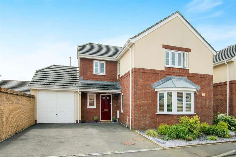 4 Bedrooms Detached House for sale in Gwesty Close, Croespenmaen, Newport