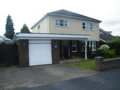 3 Bedrooms Detached House for sale in Pochard Avenue, Winsford, Cheshire, CW7
