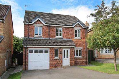 4 Bedrooms Detached House for sale in James Walton View, Halfway, Sheffield, South Yorkshire