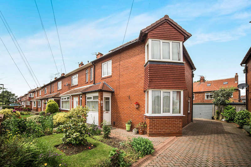 3 Bedrooms Semi Detached House for sale in Cauldwell Avenue, Monkseaton , Whitley Bay, NE25