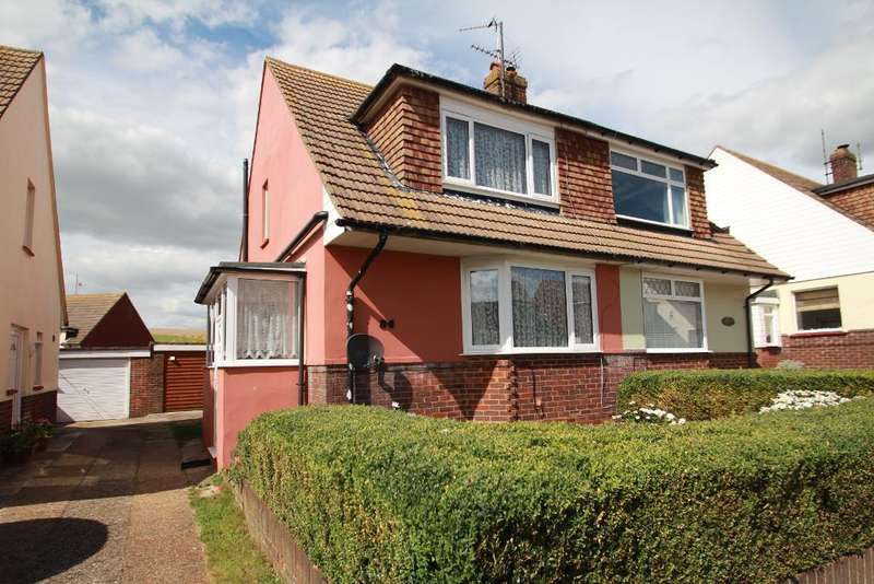 2 Bedrooms Semi Detached House for sale in Graham Crescent, Mile Oak, Portslade, East Sussex, BN41 2YB