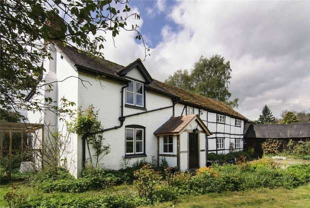 4 Bedrooms Detached House for sale in Marston, Pembridge, Leominster, Herefordshire