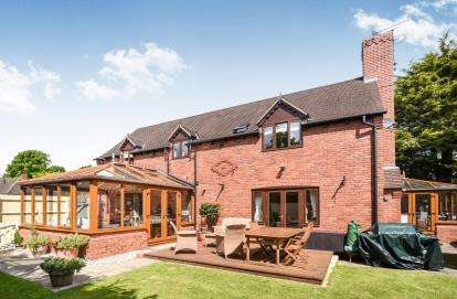 4 Bedrooms House for sale in St. Michaels Close, South Littleton, Evesham, Worces