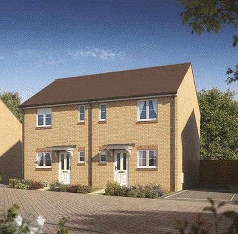 2 Bedrooms Semi Detached House for sale in Oakley Grange, Cheltenham