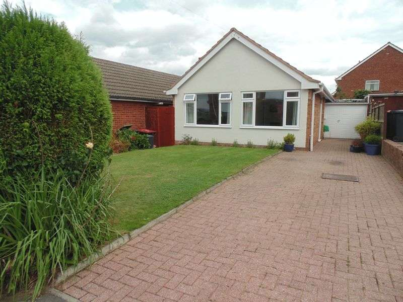 2 Bedrooms Detached Bungalow for sale in Mill Crescent, Kingsbury, Tamworth,