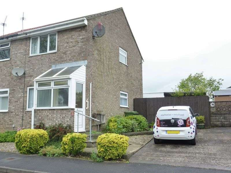 2 Bedrooms Semi Detached House for sale in Forest View, TALBOT GREEN, CF72 8RD
