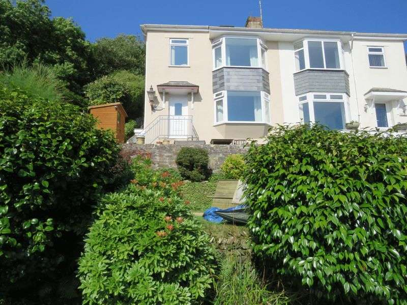 3 Bedrooms Semi Detached House for sale in Malpas, Nr. Truro