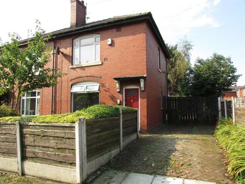 2 Bedrooms Semi Detached House for sale in Alder Avenue, Bury - Drive & Garage
