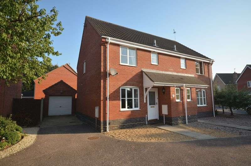 3 Bedrooms Semi Detached House for sale in Dussindale, Norwich