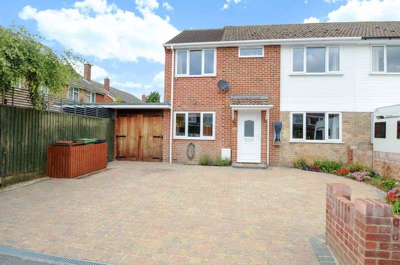 4 Bedrooms Semi Detached House for sale in Hayes Avenue, Southmoor