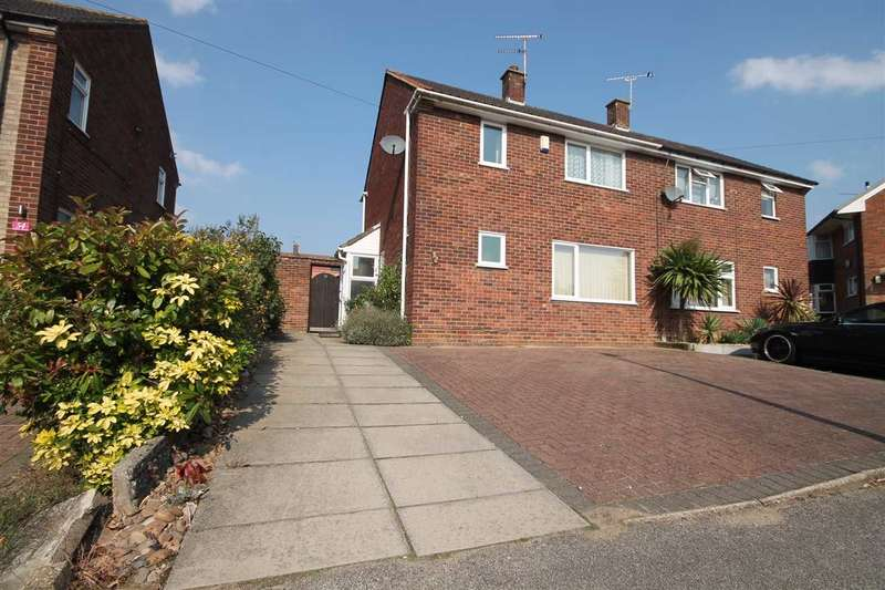 3 Bedrooms Semi Detached House for sale in Plover Road, Ipswich