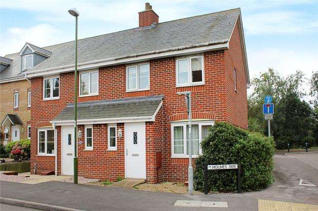 3 Bedrooms Semi Detached House for sale in Holmes Way, Littlehampton, West Sussex, BN17