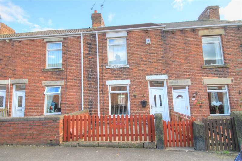 2 Bedrooms Terraced House for sale in Percy Terrace, Stanley, Durham, DH9
