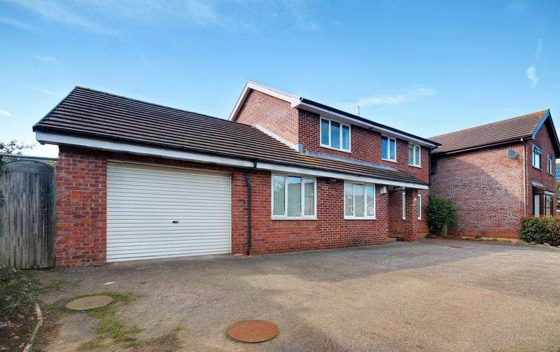 4 Bedrooms Detached House for sale in Whiteside Close, Exeter