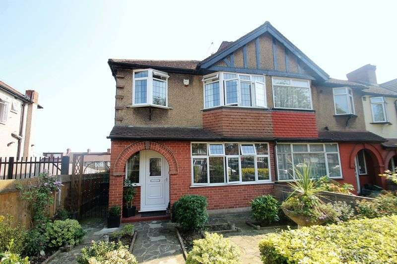 3 Bedrooms Terraced House for sale in The Fairway, Northolt, Middlesex