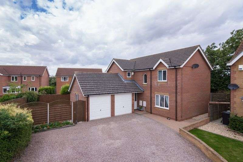 4 Bedrooms Detached House for sale in Besant Close, Boston
