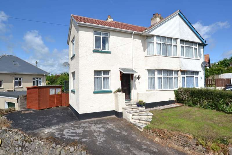2 Bedrooms Semi Detached House for sale in Vale Road, Kingskerswell
