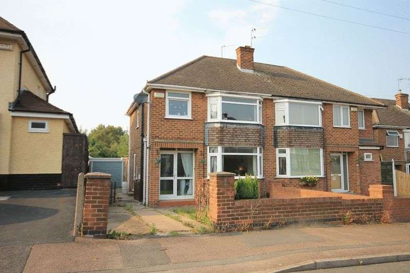 3 Bedrooms Semi Detached House for sale in SUTTON AVENUE, CHELLASTON