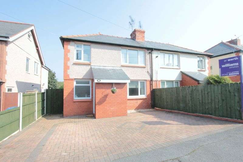 2 Bedrooms Semi Detached House for sale in Ffordd Bryn Melyd, Meliden