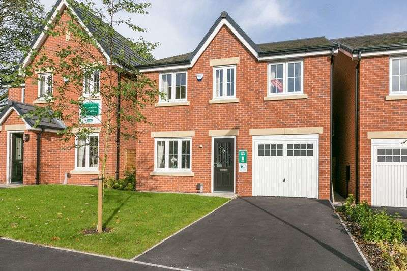4 Bedrooms Detached House for sale in Holly Nook, Haigh Road, Aspull, WN2 1TA