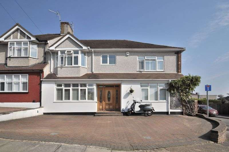5 Bedrooms Semi Detached House for sale in Meadowview Road, Bexley