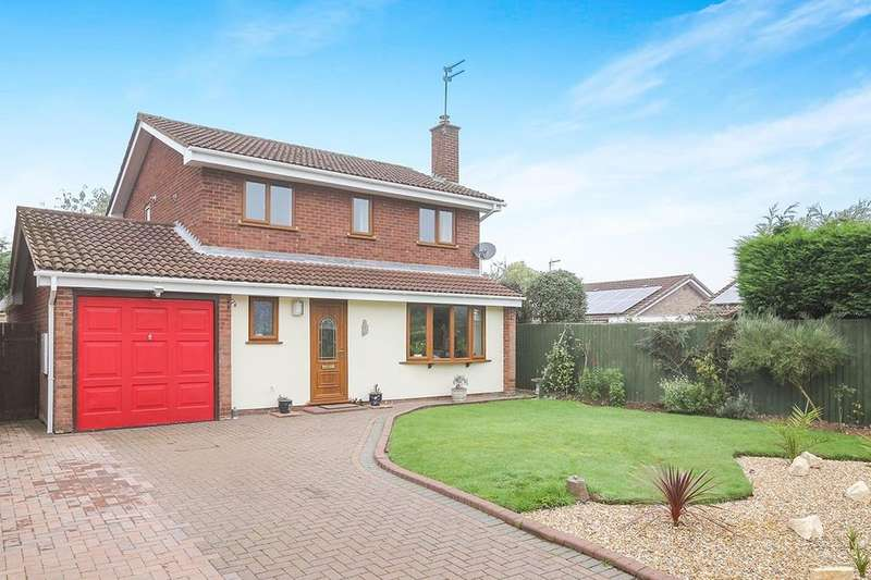 4 Bedrooms Detached House for sale in Vanbrugh Court, Wolverhampton, WV6