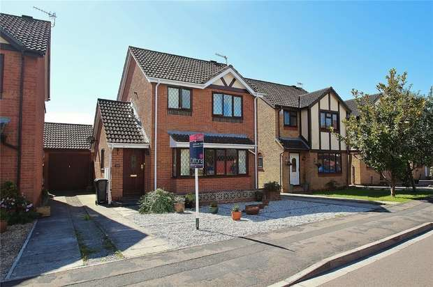 3 Bedrooms Detached House for sale in Brampton Way, Portishead, North Somerset